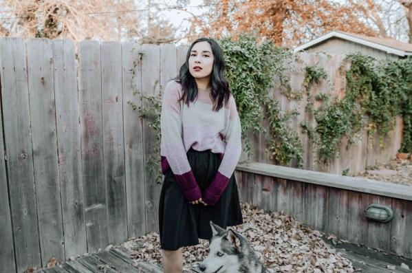 Skirt + Sweater Combo