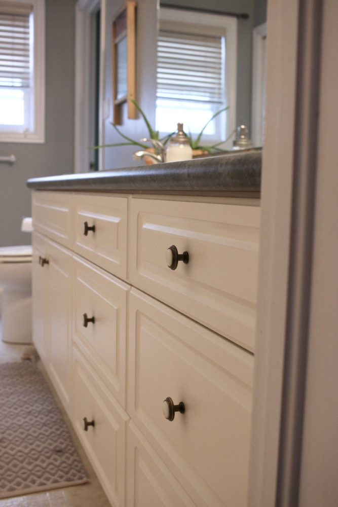 Makeover On A Budget Bathroom Vanity Update