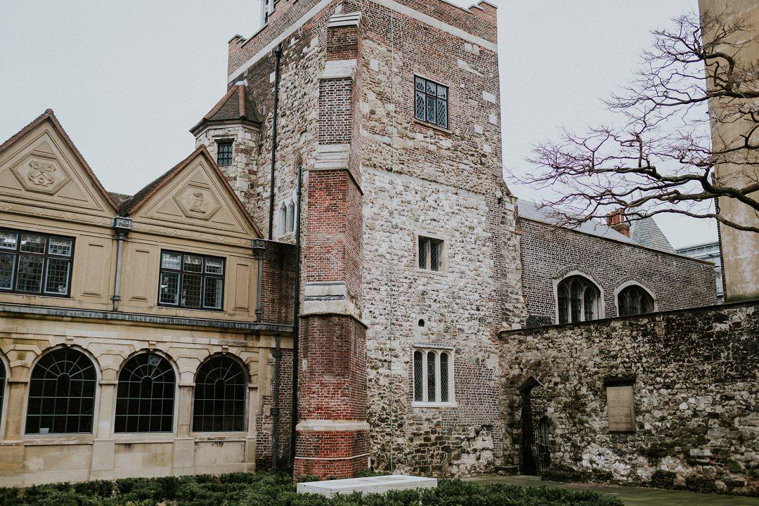 The Chartehouse London, historical  wedding venue