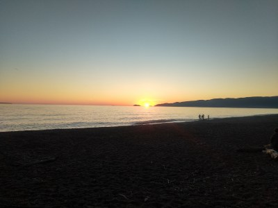 Sunset Agawa Bay