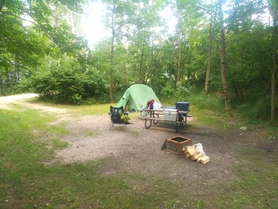 West Hawk Lake campground