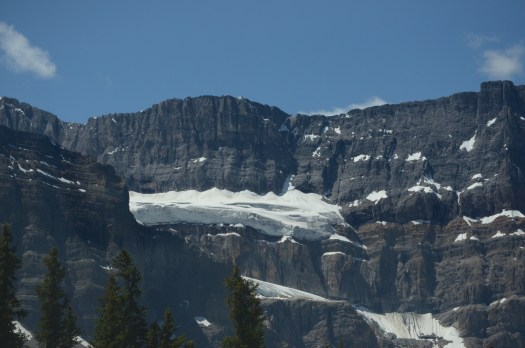 Sheer face of the rockies