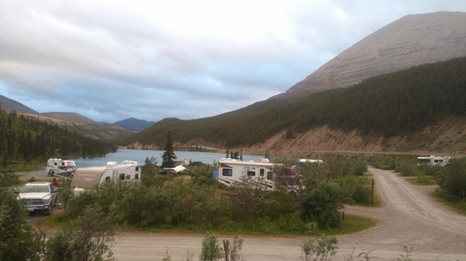 Stone Mountain Provincial Park Summit Lake Campground