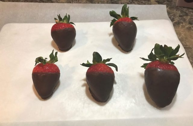 Baking sheet Strawberries