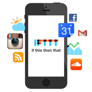 IFTTT for iPhone - Intro Screen 01