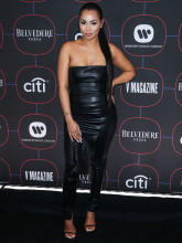 Lauren London Warner Music Group Pre-Grammy Party