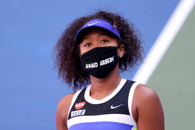 Naomi Osaka, Black Lives Matter, Ahmaud Arbery, Trayvon Martin, Sybrina Fulton, Marcus Arbery Sr, US Open
