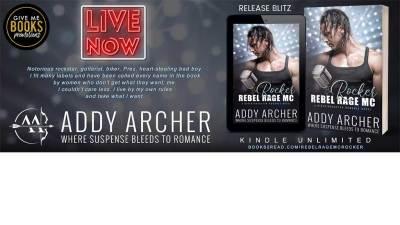 Rebel Rage MC Rocker by Addy Archer