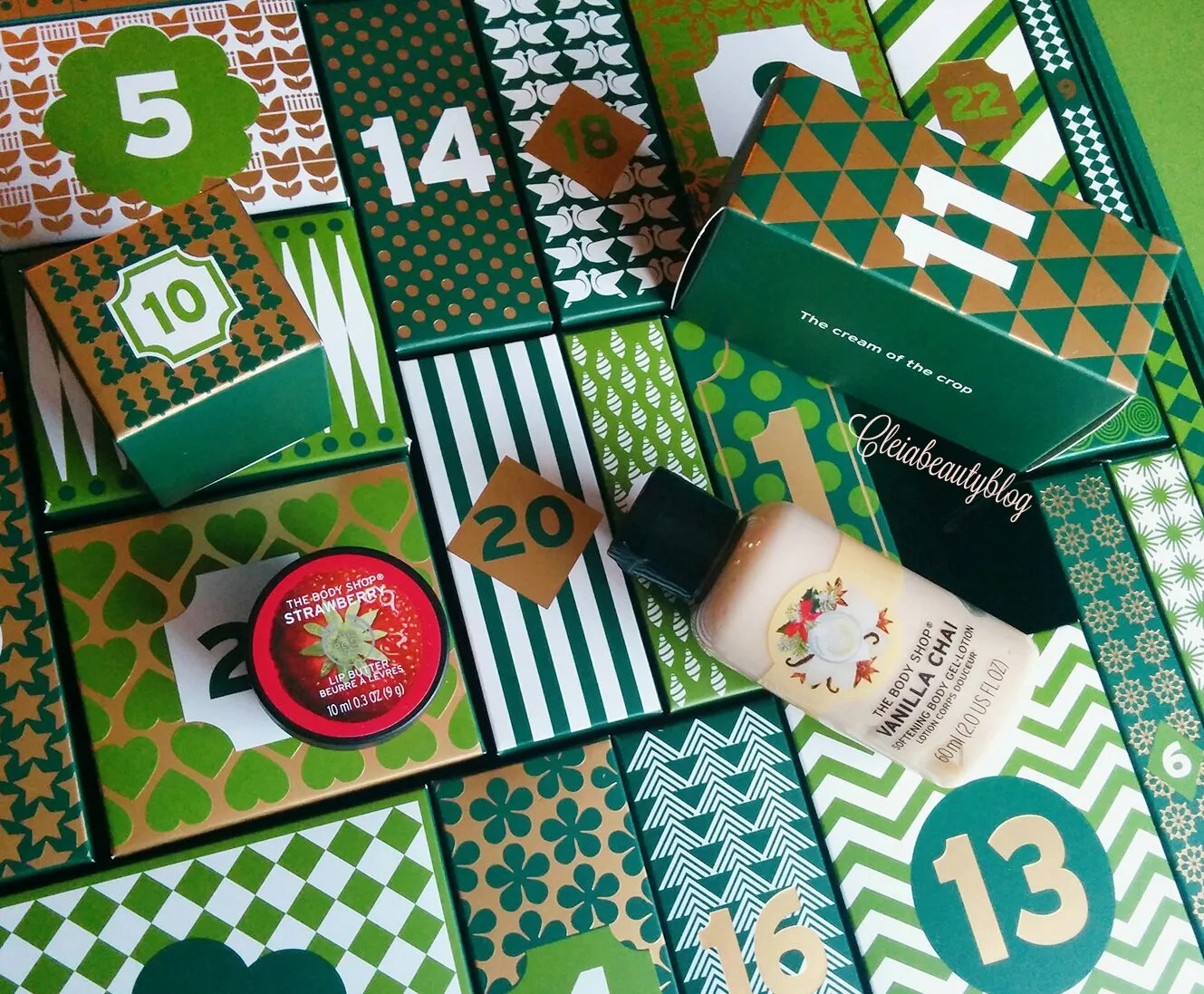 The Body Shop Advent Calendar - Lotion & Lip Butter