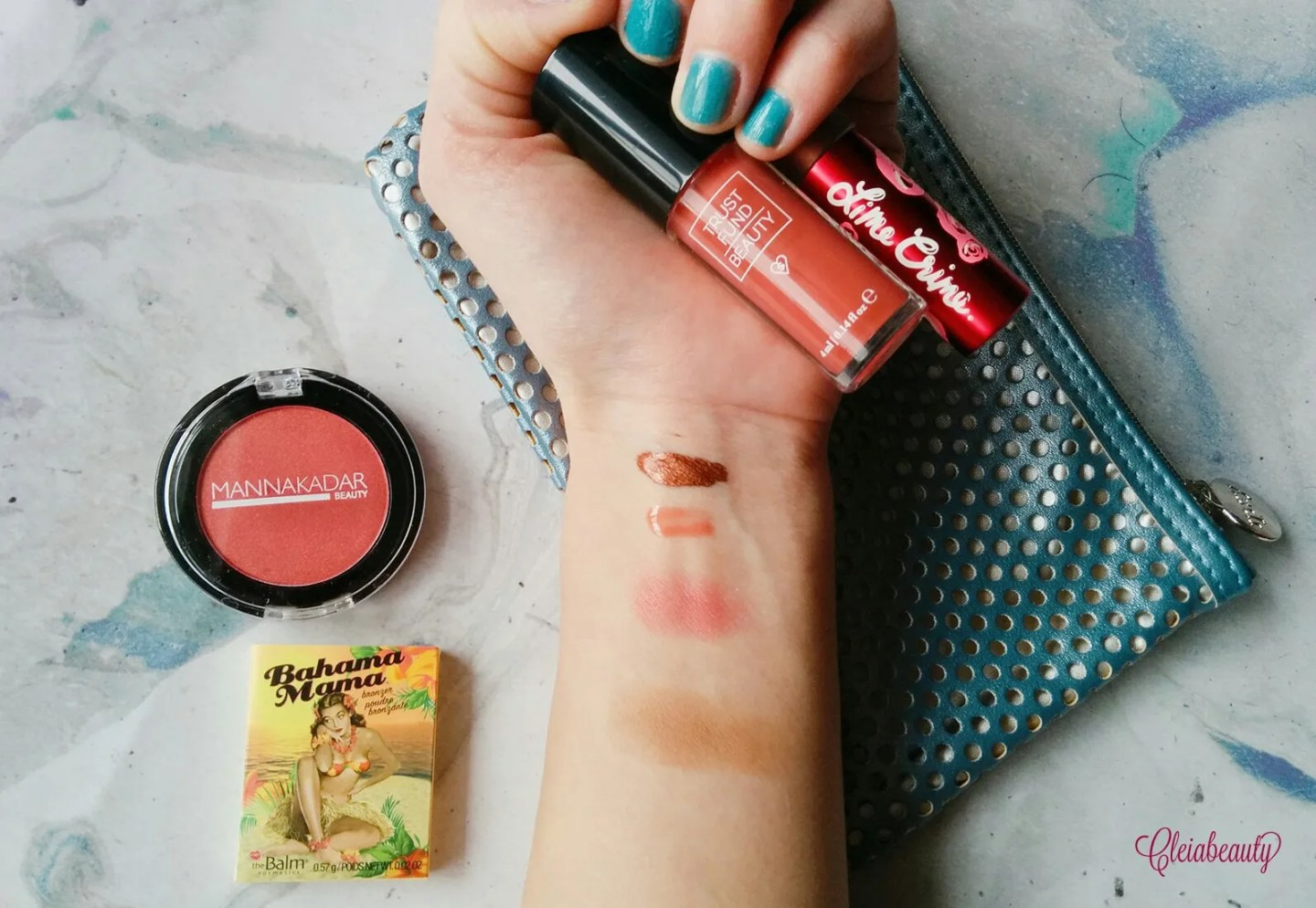 2017 January Ipsy Glam Bag Swatches