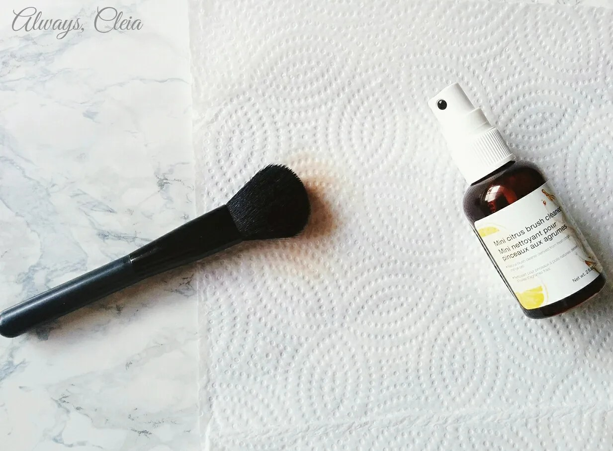 Sephora Citrus Brush Cleaner: How To