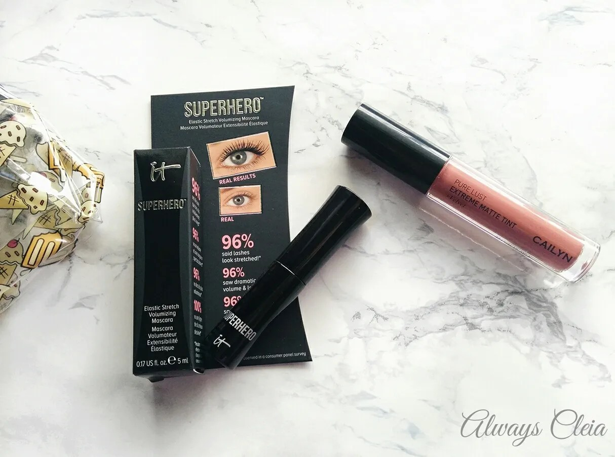 Ipsy May 2017 Review - it Cosmetics Superhero Mascara