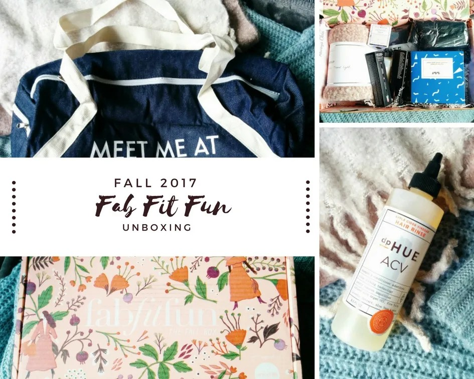 FabFitFun FALL 2017 Unboxing + Review!