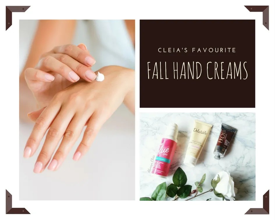 Top Hand Creams For Fall & Winter