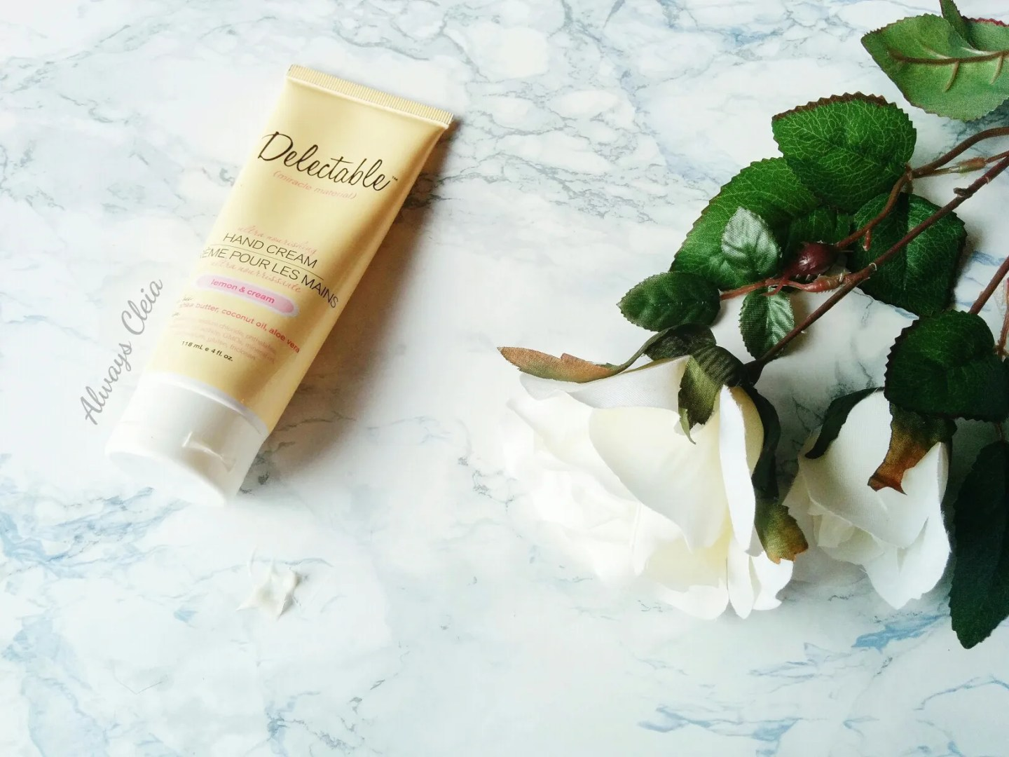 Hand Creams For Fall & Winter: Delectable Lemon Hand Cream