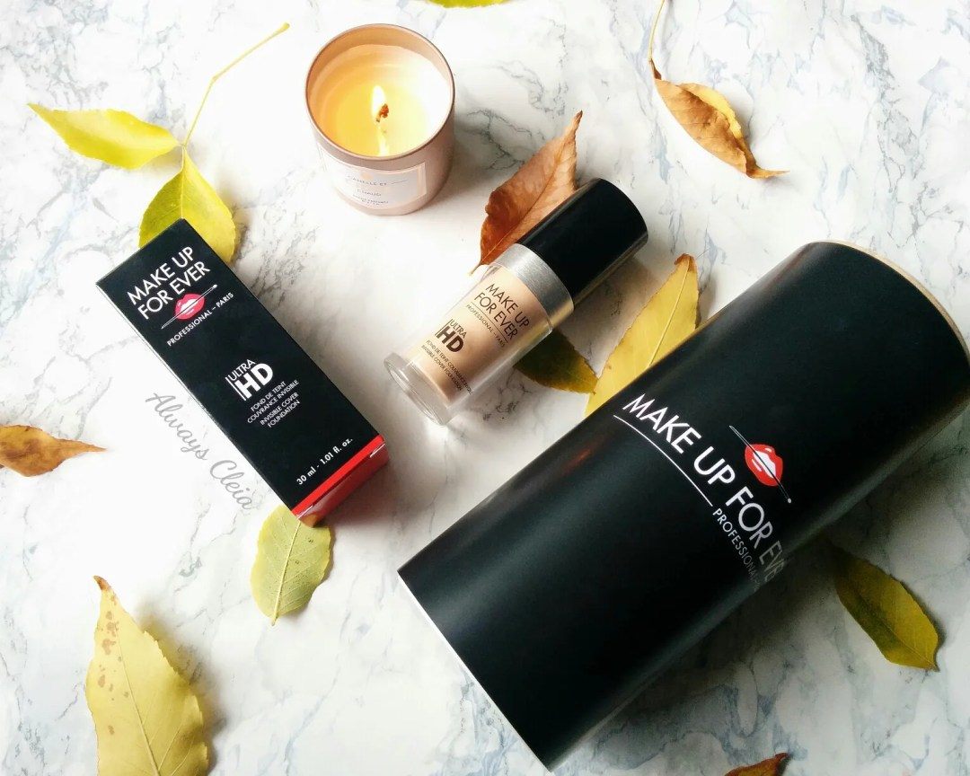 Make Up For Ever Ultra HD Foundation Review - Packaging