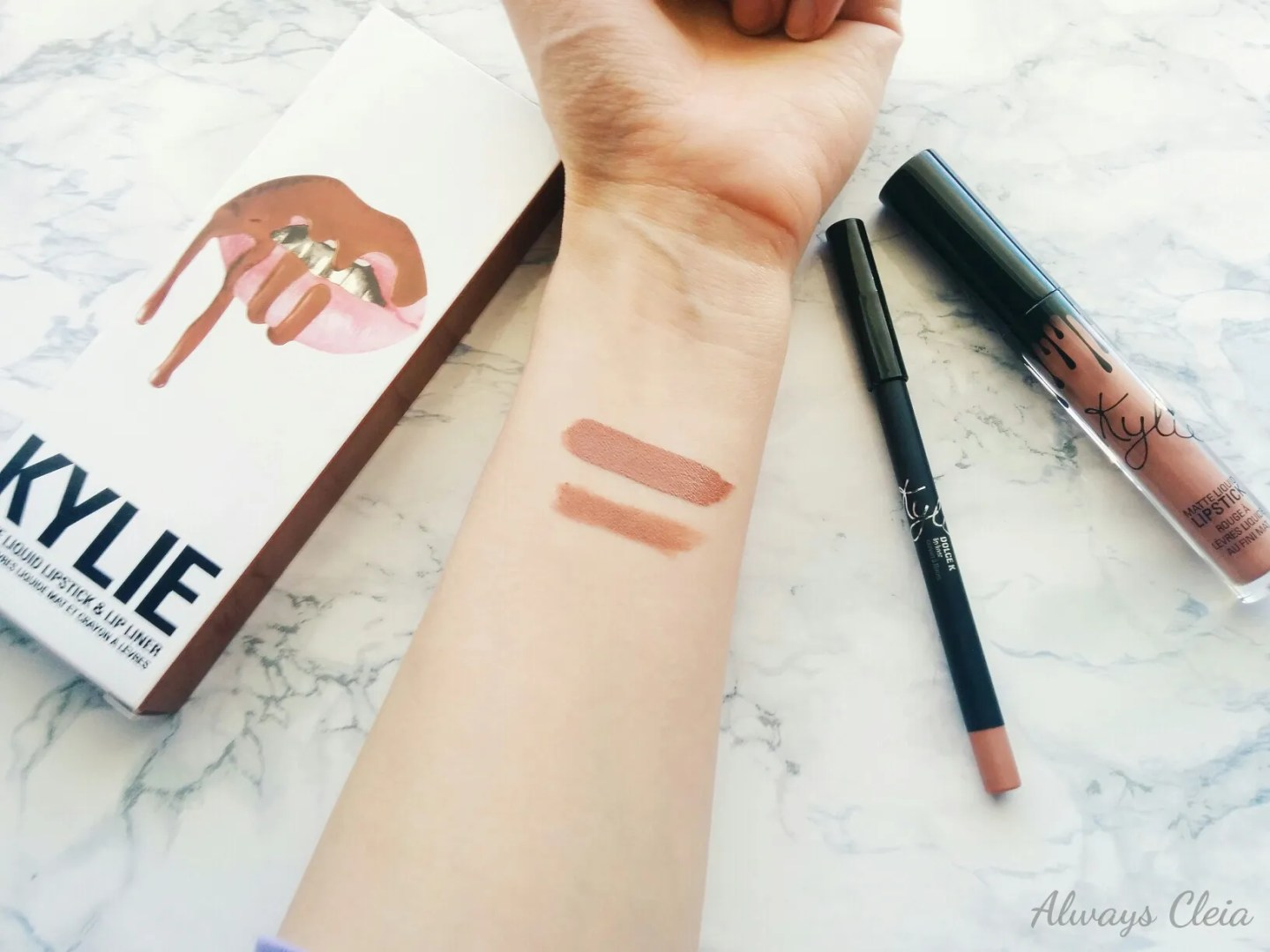 Dolce K Kylie Matte Lip Kit Swatches
