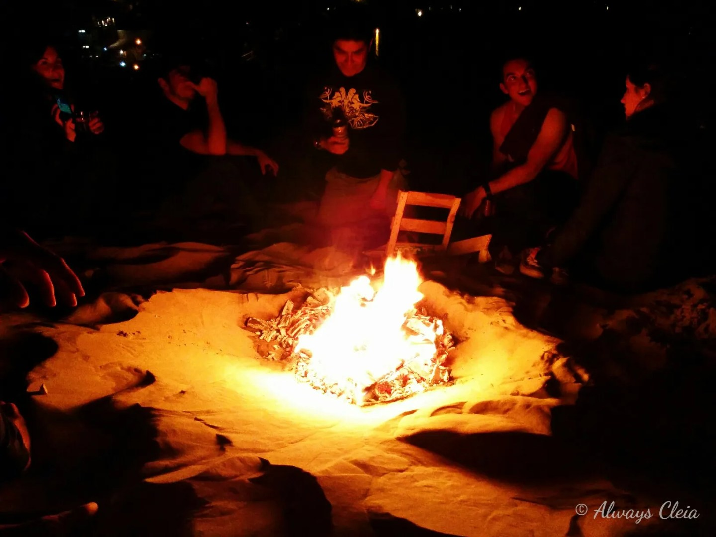 Huacachina Bonfire
