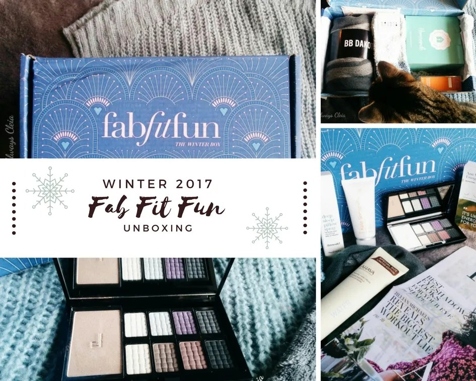 FabFitFun WINTER 2017 Unboxing + Review!