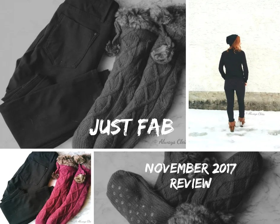 Just Fab Black Friday 2017 Unboxing + Review