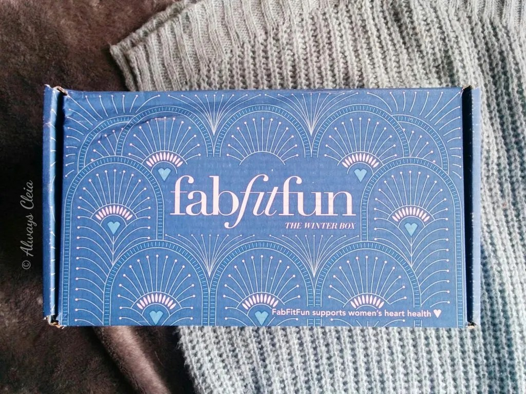 FabFitFun 2017 Winter Box Review
