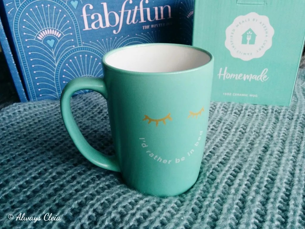 2017 Fabfitfun Winter Box Homemade by Ayesha Curry Mug