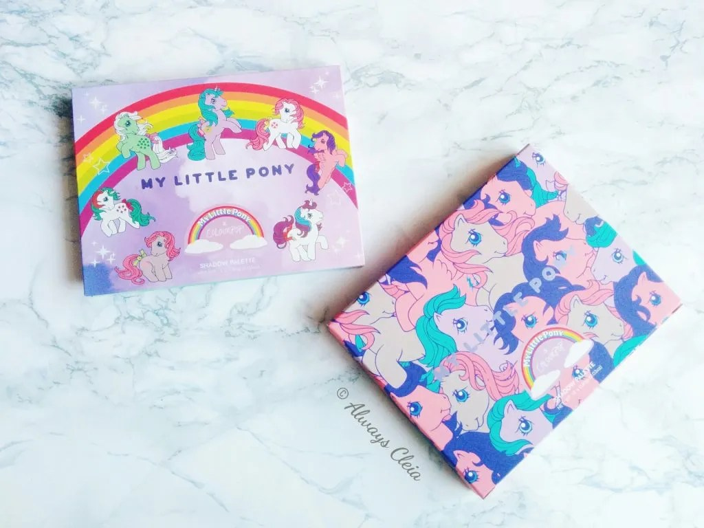 ColourPop My Little Pony Eyeshadow Palette