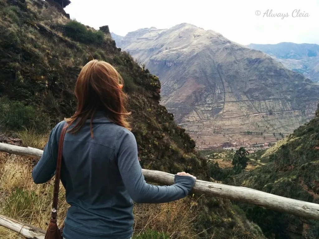 Sacred Valley Lookout - Pisac Peru