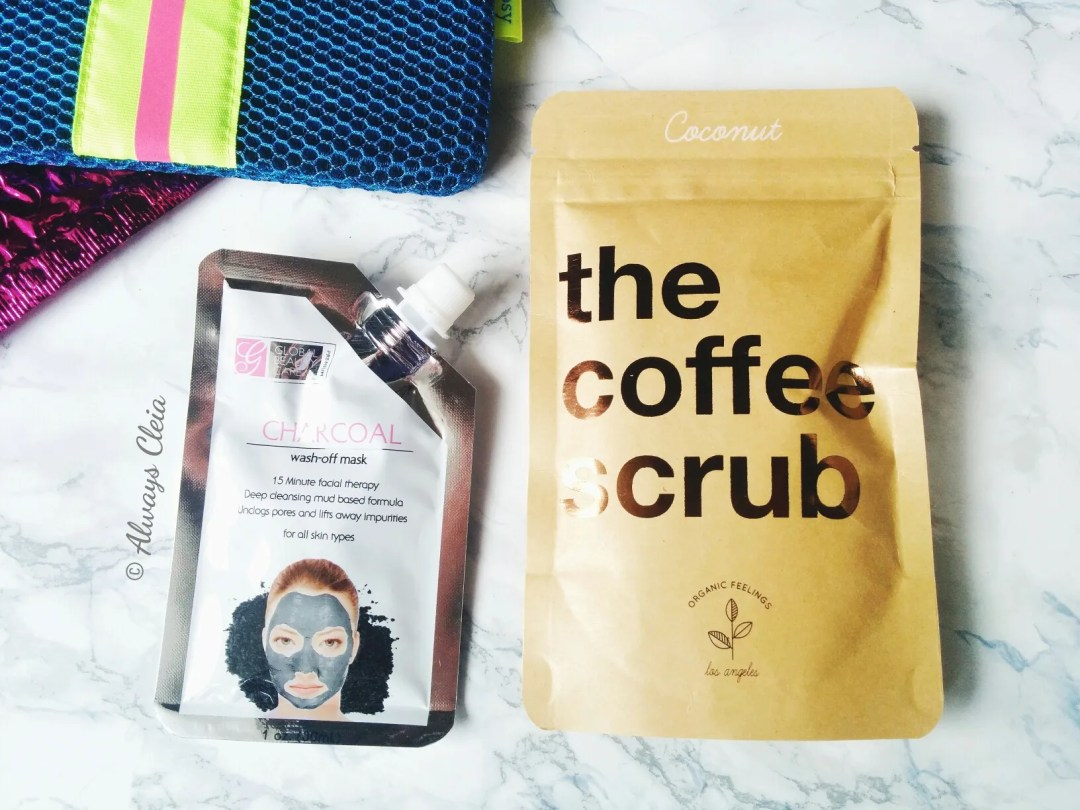 Ipsy January 2018 Glam Bag Coffee Scrub