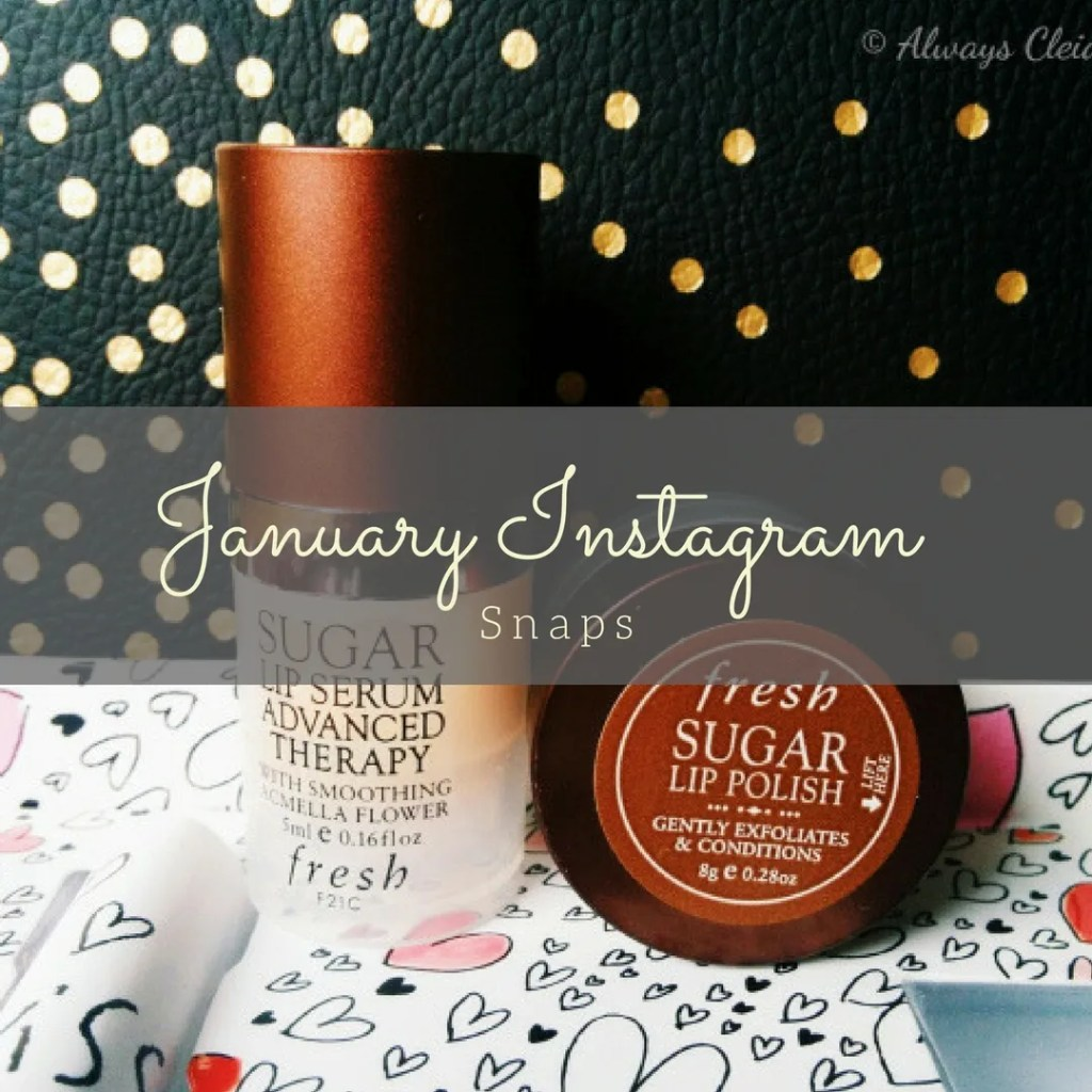January 2018 Instagram Round Up