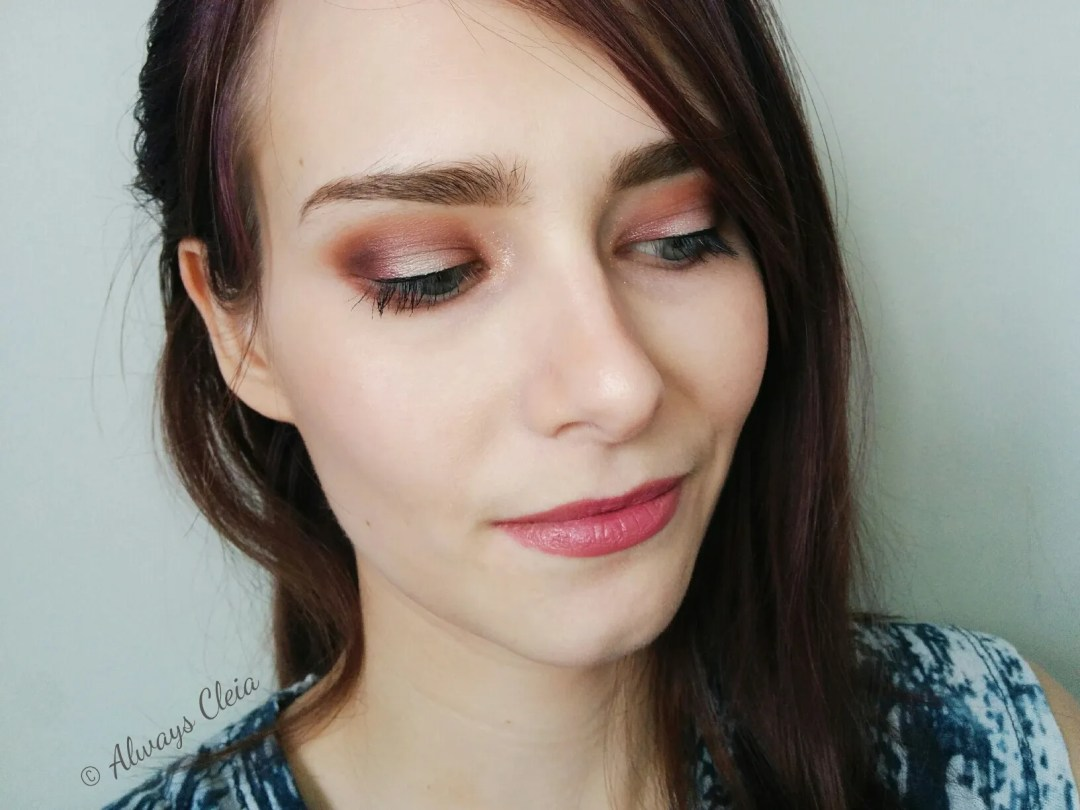 ColourPop Give It To Me Straight - Mauve Over Eye Look