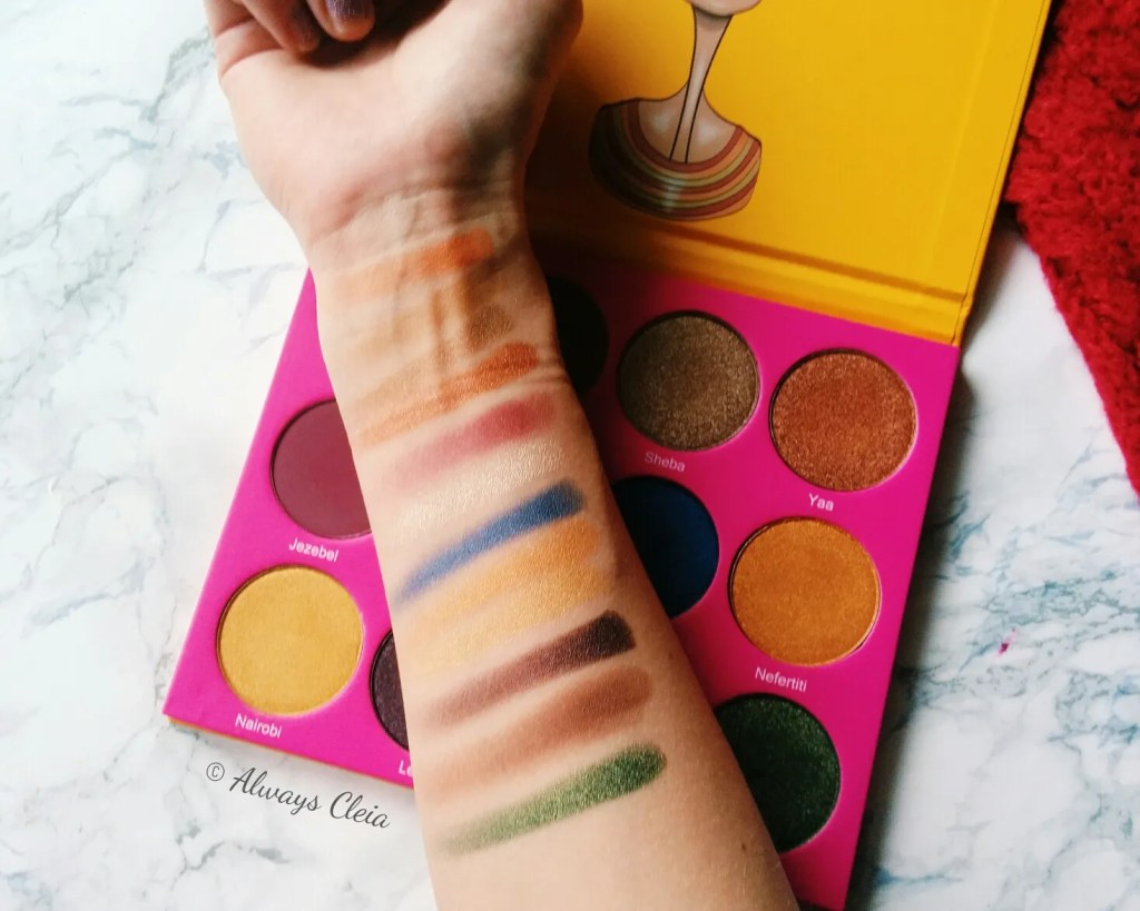 Juvia's Place Nubian 2 Swatches