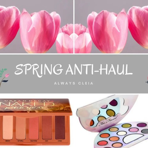 2018 Spring Beauty Anti-Haul