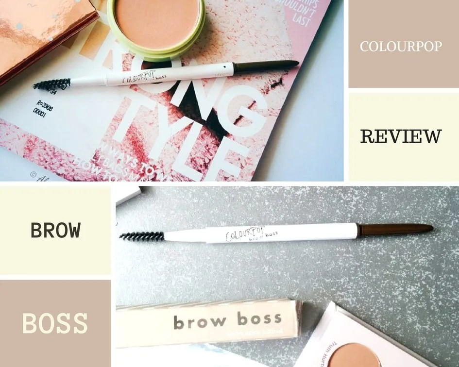 ColourPop Brow Boss Review