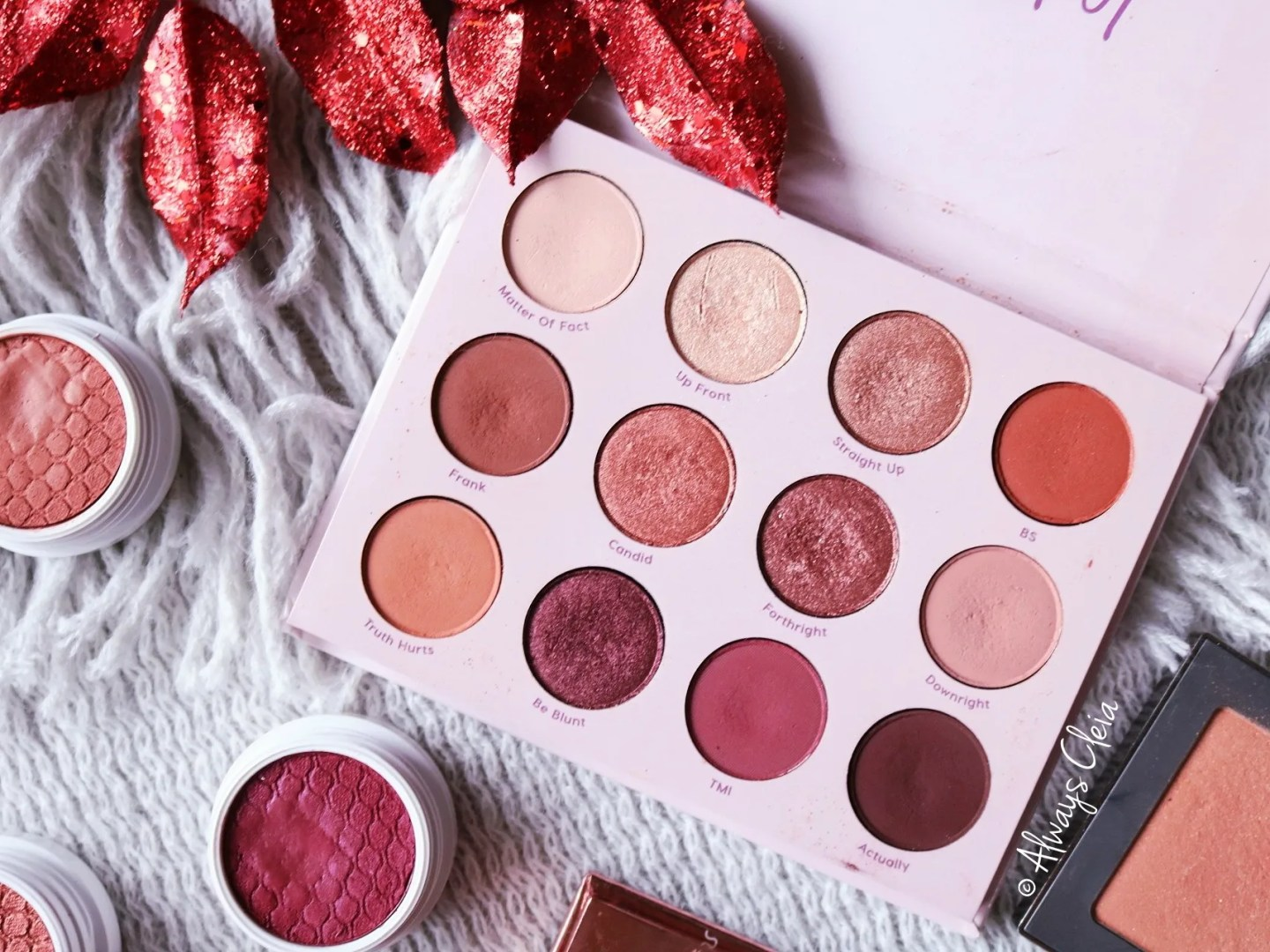 ColourPop Give It To Me Straight Palette Up Close