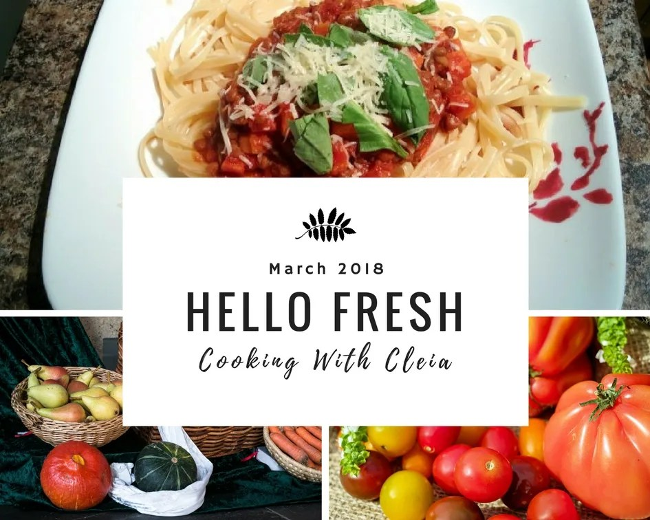 Hello Fresh Review: Cooking With Cleia