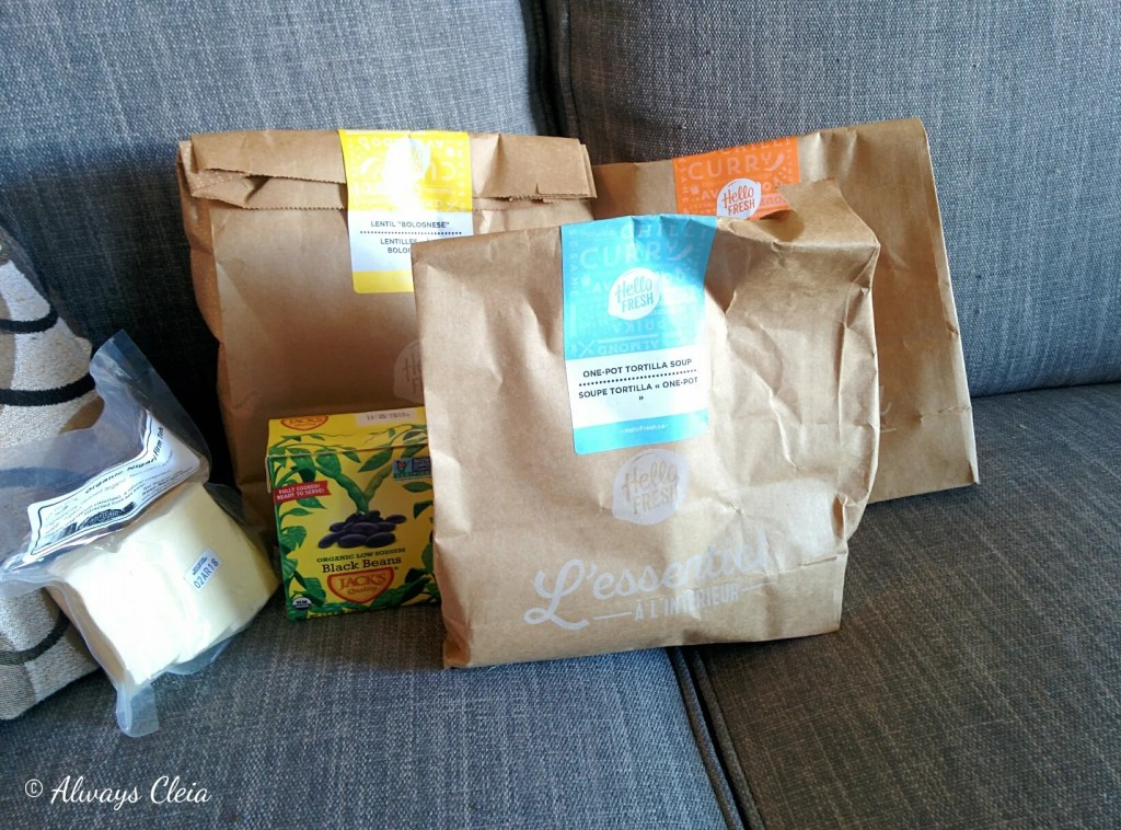 March 2018 Hello Fresh Packaging