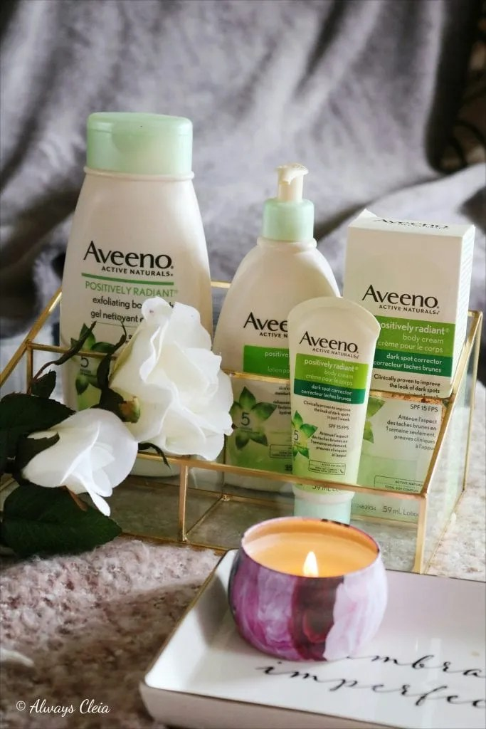 Aveeno Positively Radiant Total Soy Complex