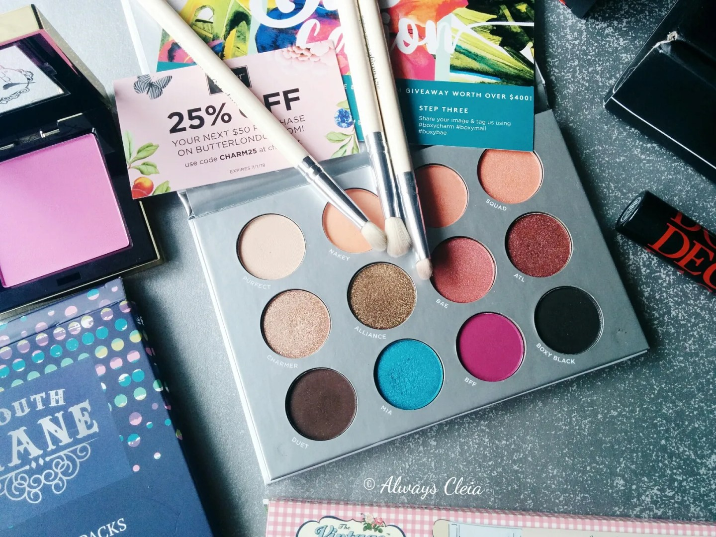March BoxyCharm 2018 | Flatlay
