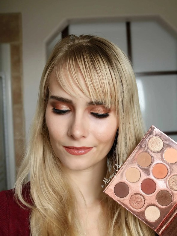 Double Entendre Beach Bronze Eye Look