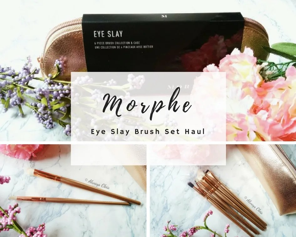 Morphe Brushes Eye Slay Brush Set Haul