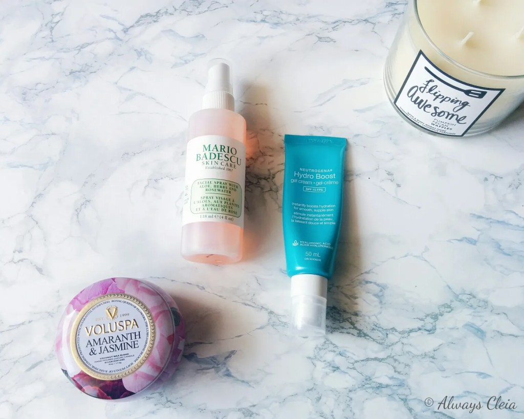 Collective Beauty Haul - Mario Badescu & Neutrogena