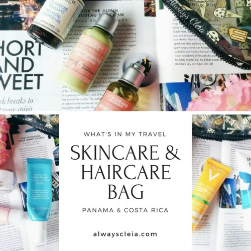 Travel Skincare & Haircare