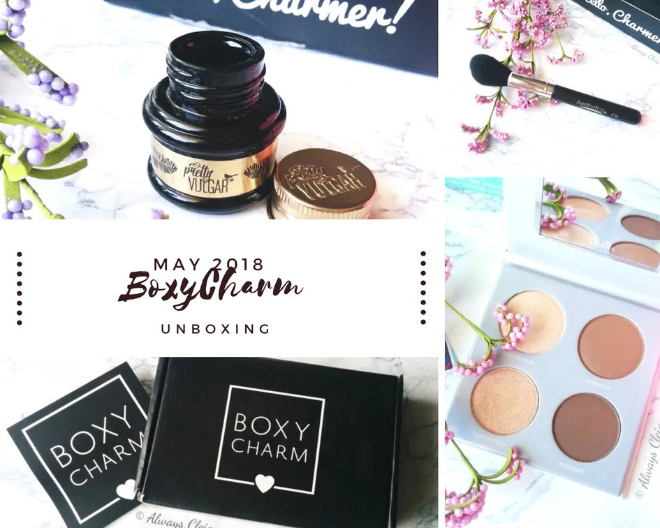 May Boxycharm Unboxing + Review