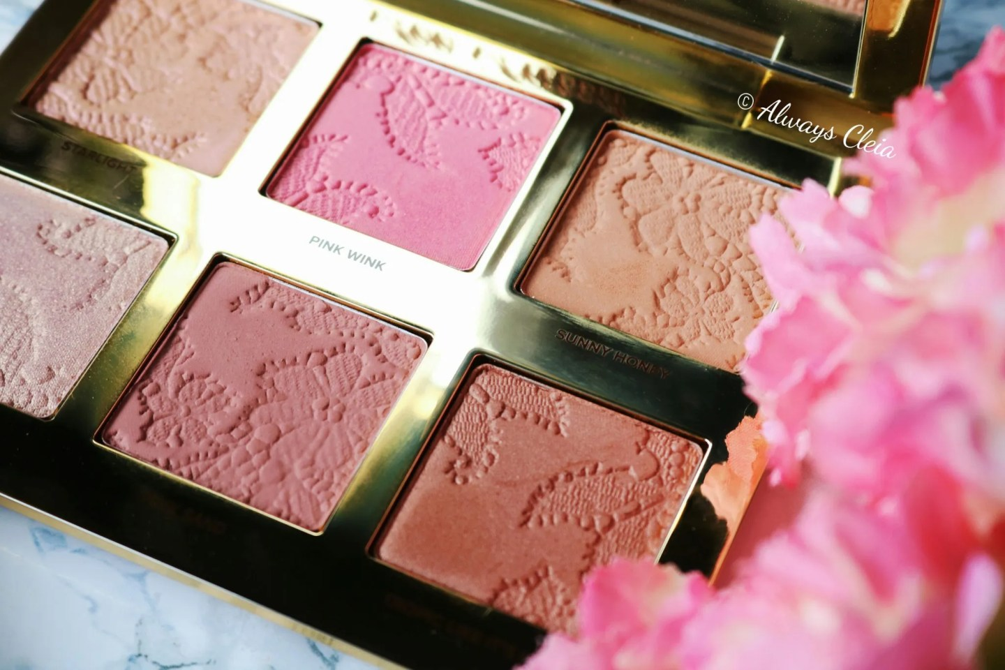 Too Faced Natural Face Palette Shades