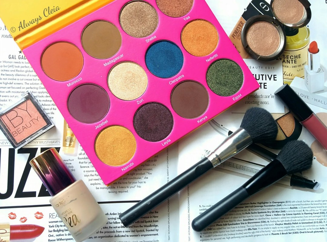 Juvia's Place Nubian 2 Eyeshadow Palette Review