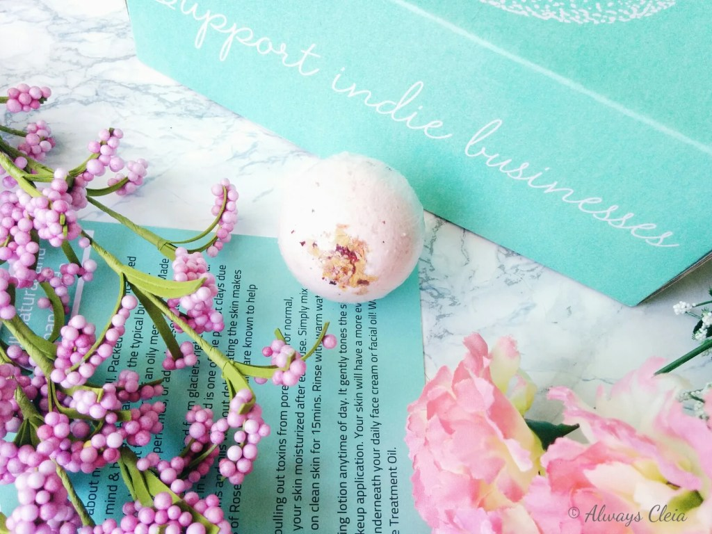 Natural Panda Bath Bomb | Sweet Oak Care Subscription Box