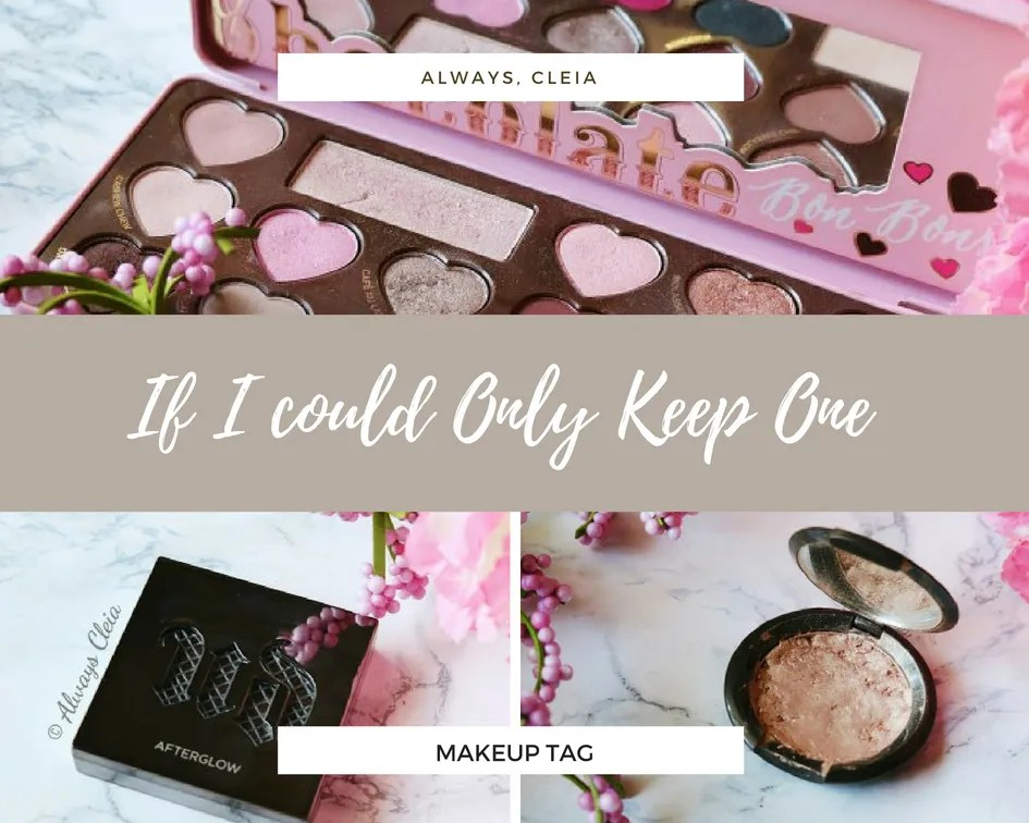 If I could Only Keep One Makeup Tag