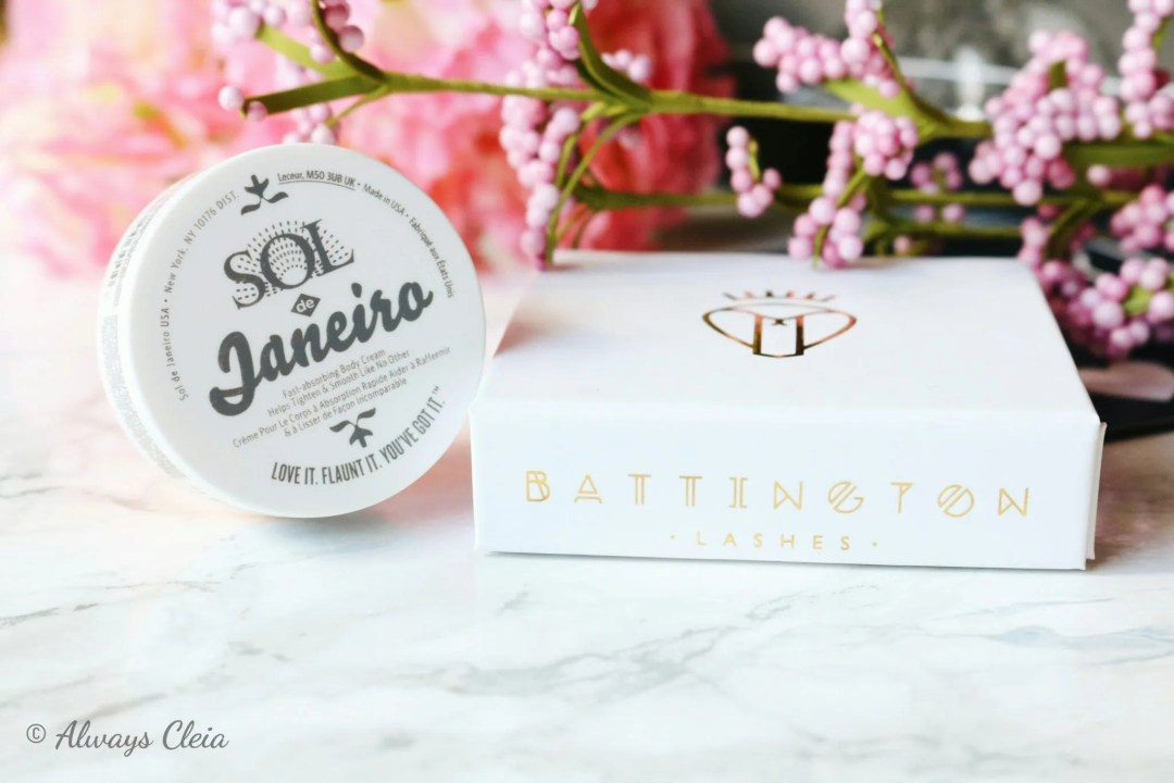 June Boxycharm | Sol De Janeiro & Battington Lashes