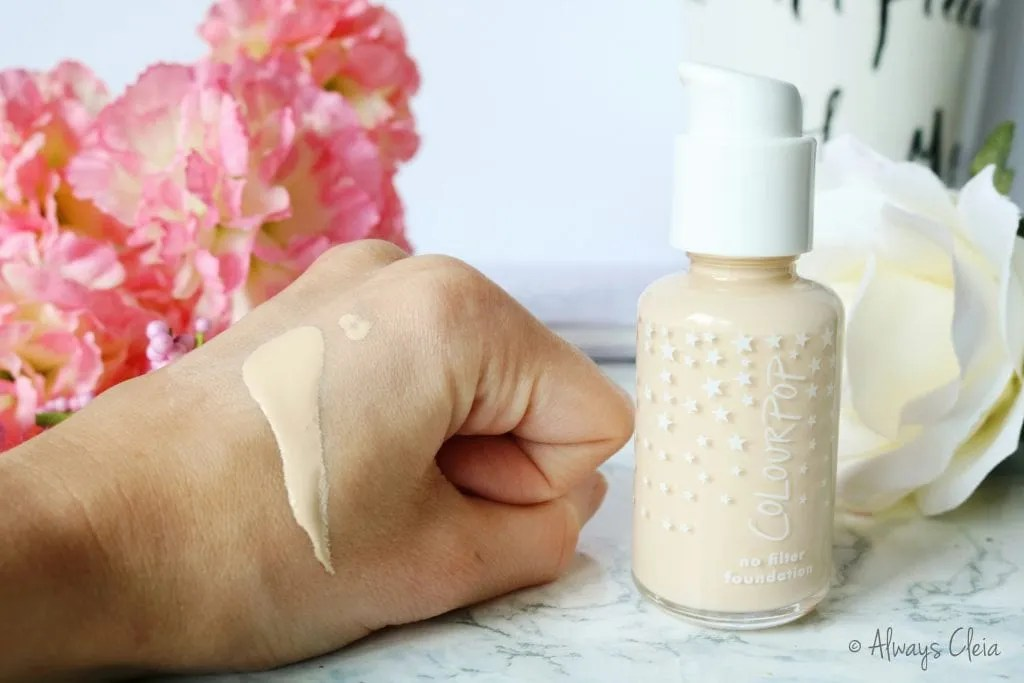 No Filter Foundation Review
